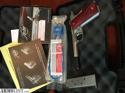 For Sale: Brand new unfired Kimber Custom II 45ACP