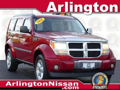 2008 Dodge Nitro SXT (Inferno Red Crystal Pearl)