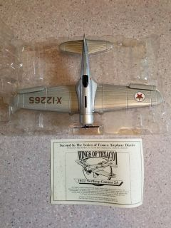 Wings of Texaco - 1932 Northrop Gamma Airplane Bank - 2nd in the series