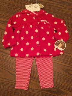 Infant Girls 2 Piece Xmas Outfit NEW Girls