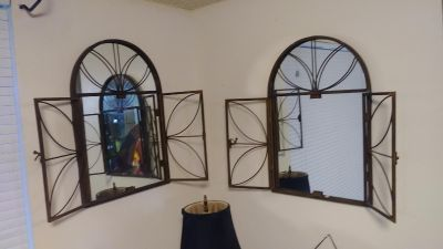 Set of 2 mirrors $20 each