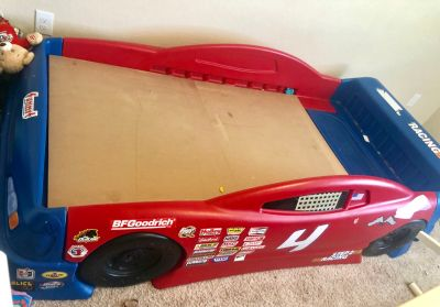 Race Car Twin Bed & Storage