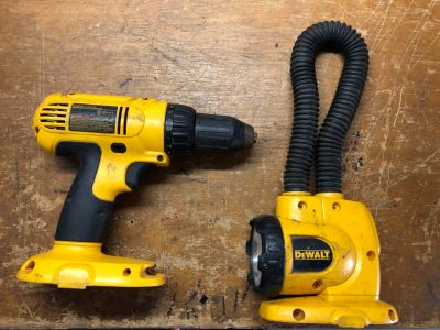 Dewalt Drill & Flashlight