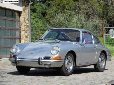 1966 Porsche 911 Sunroof Coupe!