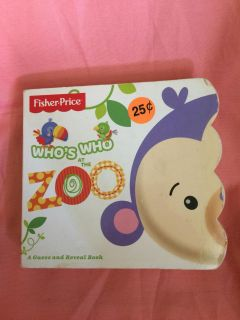 Fisher price toddler book No rips