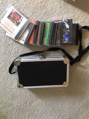 Vaultz CD / Game carry case with CD's