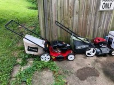 Lawn Mowers that need love