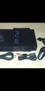 Ps2 PlayStation 2 with remote and memory card