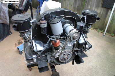 Porsche 356 motor 1957