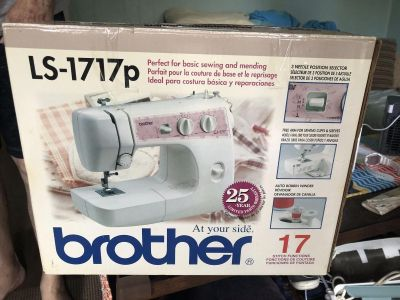 Sewing machine, only used twice! Had for a little of a year, just don t use enough!