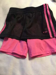 Girls sz 6 shorts by Champion