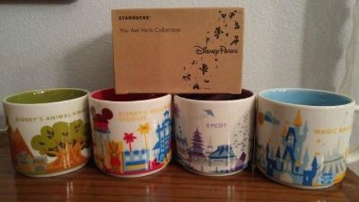 """Starbuck's @ Disney, """"You Are Here"""" Collection"""