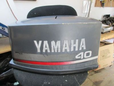 Buy YAMAHA 40 TOP COWLING 6R6-42610-00-EJ OUTBOARD PULL START 90 CV40ELD FITS OTHERS motorcycle in Dunnellon, Florida, United States, for US $50.00