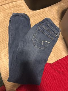 AE stretch jegging size 2