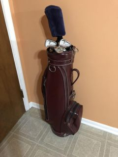 Top Flite Golf Clubs set with Golf Bag