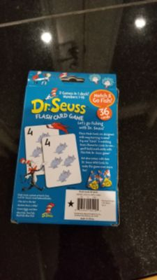 New Dr.Seuss flash card game
