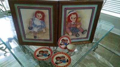 Raggedy Ann and Andy Pictures and Teaset