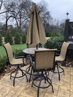 Patio set. 2 years old. Great condition. Must pick up.
