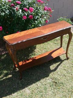 Vintage Sofa or Entry Table