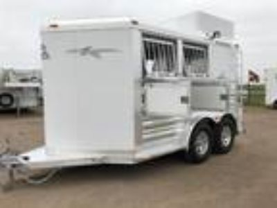 "2019 Platinum Coach 2 H BP with MANGERS 16"" tires & wheels 2 horses"