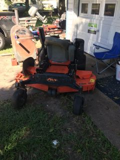 Selling my 60 in Ariens zero turn commercial mower for parts