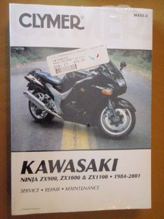 Buy KAWASAKI NINJA SERVICE REPAIR MAINTAIN MANUAL CLYMER MOTORCYCLE NEW motorcycle in Prior Lake, Minnesota, United States, for US $14.99