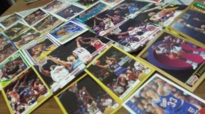 35 basketball cards 1991 fleet all star team and more