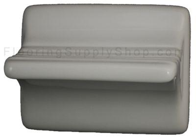 Ceramic Leg Shaving Rest White Glossy
