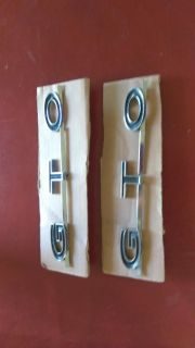 GTO EMBLEMS FOR 64,65,67 MUSTANG