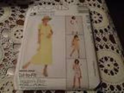 McCalls Dress & Jacket Pattern 8719 Misses Size 8 - 12