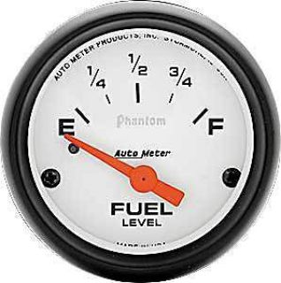 "Sell Auto Meter 5717 Phantom Fuel Level Gauge 2-1/16"" electrical 0-30 ohms motorcycle in Delaware, Ohio, United States, for US $53.95"