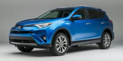 2018 Toyota RAV4 Hybrid Limited (Galactic Aqua Mica)