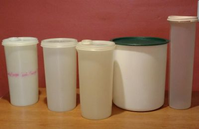 Tupperware pantry/craft containers