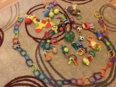 Lot of Infant Toys
