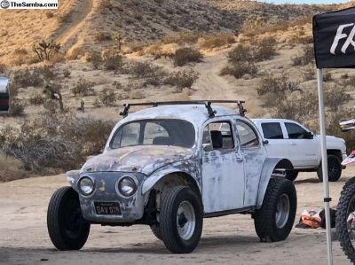 1956 oval Baja bug