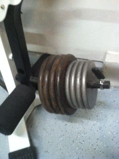 Total Sports America Incline Bench with Weights OBO