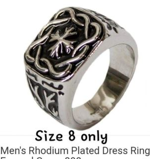 Mens Ring-sz 8 only