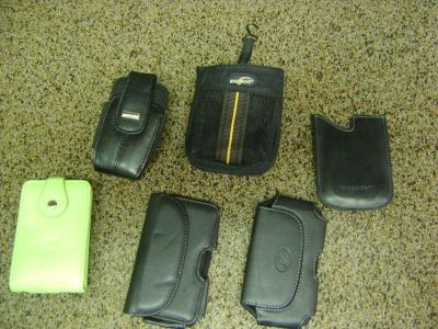 Miscellaneous Cases For An iPOD, Phones, Blackberrys, Camera, ETC.