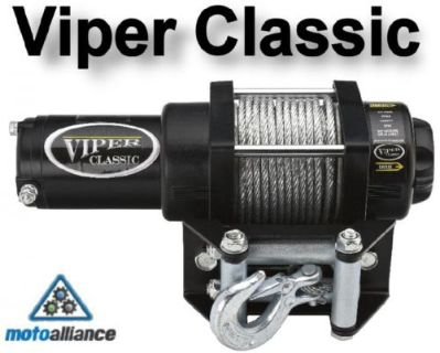 Find VIPER CLASSIC 3000lb ATV Winch by Motoalliance motorcycle in Rogers, Minnesota, United States