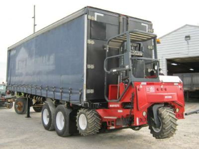 $19,900, 2007 Great Dane Trailers 32#39; x 102 Curtain Side Moffett Trailer