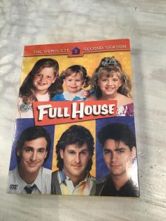 Brand new factory sealed Full House - The Complete Second Season . Uncle Jesse