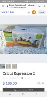 Cricut expressions 2 and gypsy loaded with over 50 cartridges and a new cut mat