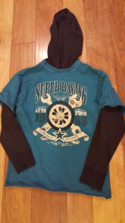 EUC large 10/12 Childrens Place hoodes long sleeve