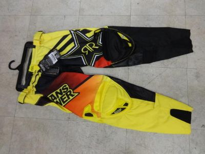 Find ANSWER ROCKSTAR ENERGY PANTS SIZE ADULT 32 WAIST NEW 2014 STYLE motorcycle in Alexandria, Virginia, US, for US $114.99