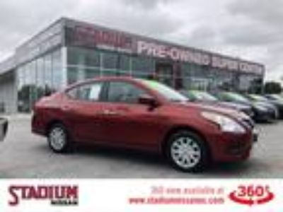 Used 2018 Nissan Versa Sedan Cayenne Red, 37.2K miles