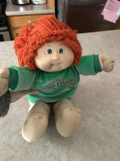 Cabbage Patch Doll Red Hair