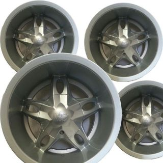 """Sell FOUR 12"""" 12x7 4/4 Aluminum Golf Cart RIMs WHEELs for EZ-GO Club Car Yamaha more motorcycle in Oldfort, Tennessee, United States, for US $199.95"""
