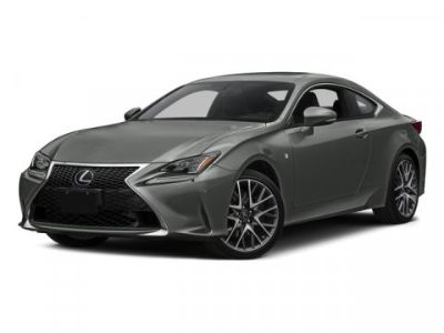 2015 Lexus RC 350 F-Sport (Red Interior) (Black)