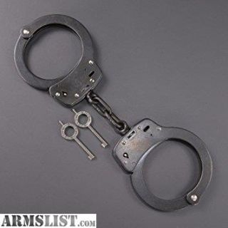 For Sale/Trade: 2 Pairs Smith and Wesson M-100 Handcuffs