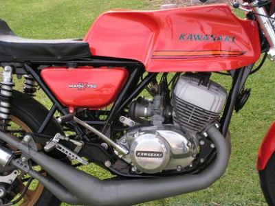 Purchase Vintage KAWASAKI H1 500 H2 750 Triple, Motorcycle Fuel Tank Decals motorcycle in La Mesa, California, US, for US $9.99